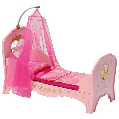 Купить Кровать для принцессы Baby born (Zapf Creation) в интернет магазине игрушек и детских товаров