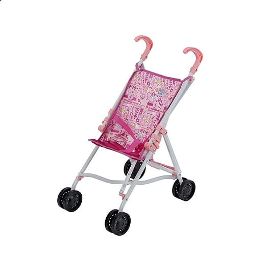 Купить Коляска-трость Baby born с рисунком (Zapf Creation) в интернет магазине игрушек и детских товаров
