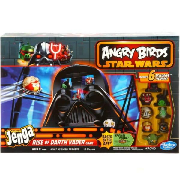 Купить Настольная игра Angry Birds Star Wars Дженга (Jenga) Восхождение Дарта Вейдера (Hasbro) в интернет магазине игрушек и детских товаров