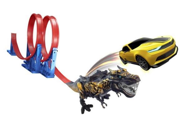 Купить Трек Transformers Гримлок (HTI) в интернет магазине игрушек и детских товаров