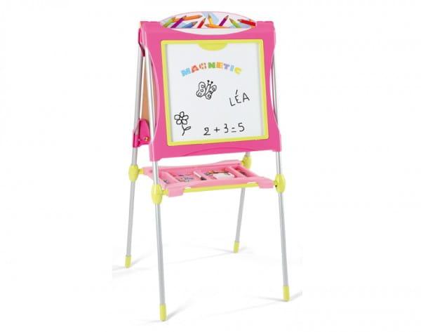 Купить Двухсторонний мольберт Smoby - розовый 3 в интернет магазине игрушек и детских товаров