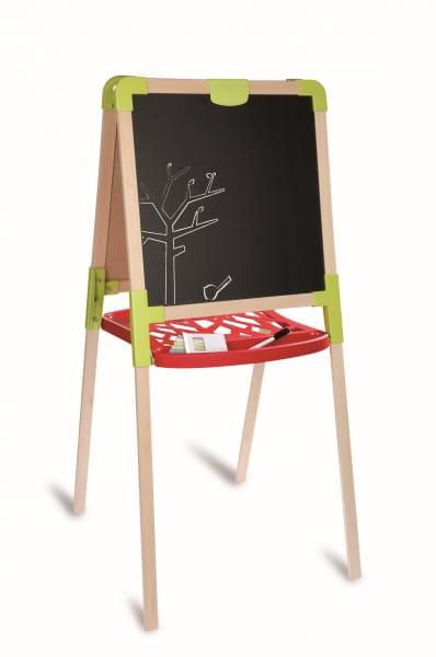Купить Деревянный двухсторонний мольберт Smoby в интернет магазине игрушек и детских товаров