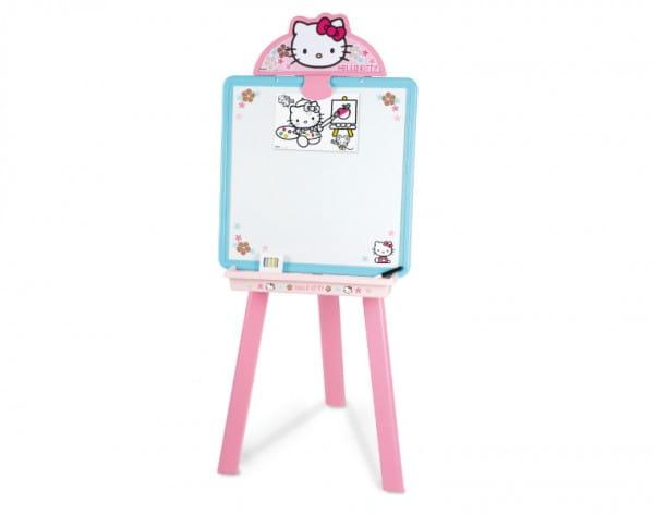 Купить Мольберт Smoby с доской для рисования Hello Kitty в интернет магазине игрушек и детских товаров