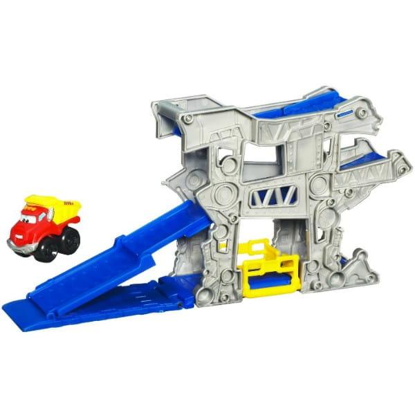 Купить Игровой набор с мини-машинкой Tonka Chuck and Friends (Hasbro) в интернет магазине игрушек и детских товаров