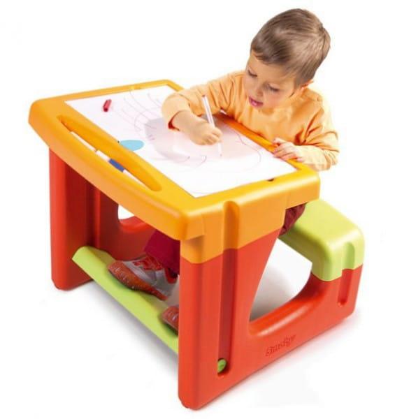 Купить Парта Smoby с доской для рисования в интернет магазине игрушек и детских товаров