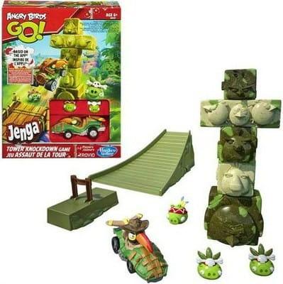 Купить Настольная игра Angry Birds Разрушение башни (Hasbro) в интернет магазине игрушек и детских товаров