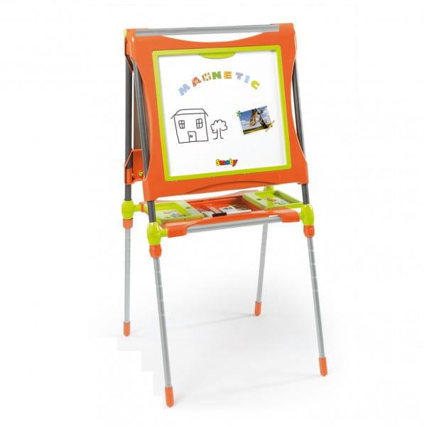 Купить Двухсторонний мольберт Smoby оранжевый в интернет магазине игрушек и детских товаров