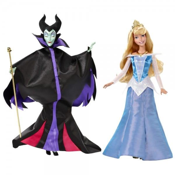 Куклы Disney Princess Малифисента и Спящая красавица (Mattel)