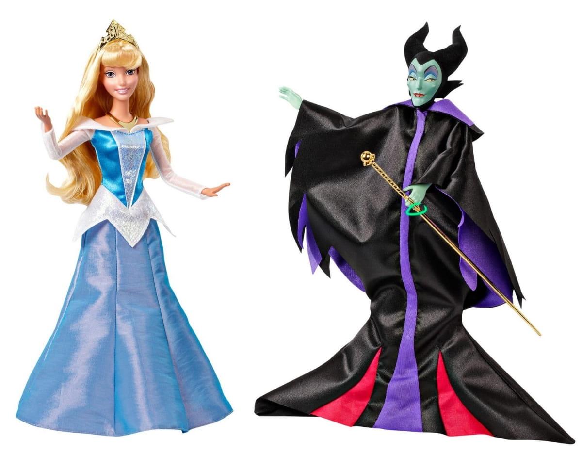 Куклы Disney Princess BDJ35 Малифисента и Спящая красавица (Mattel)