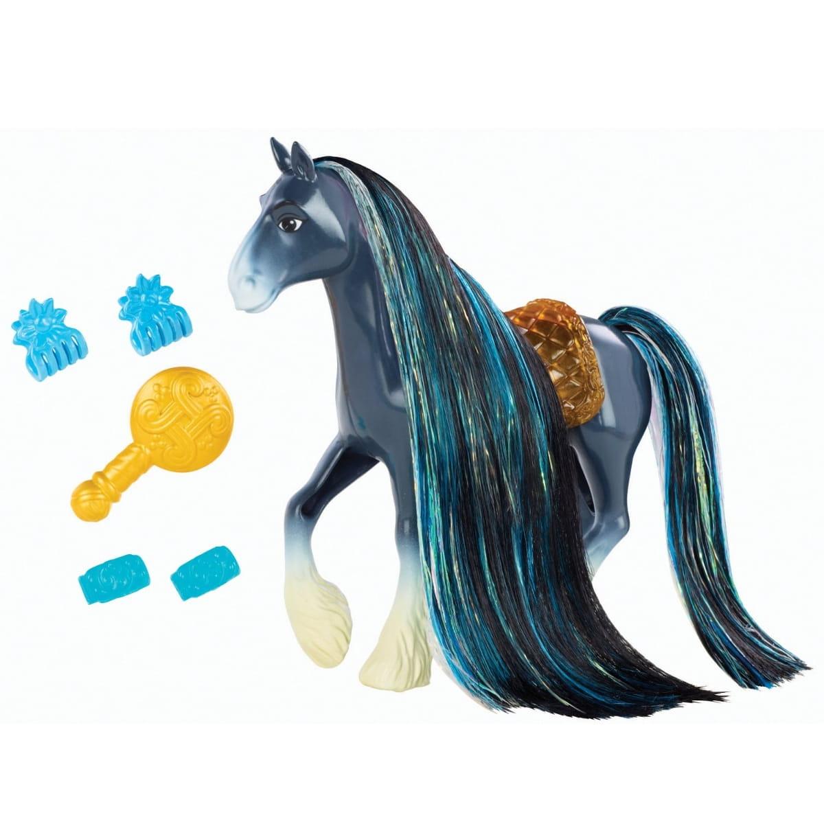 Лошадь Disney Princess BDJ53 Создай прическу - Ангус (Mattel)