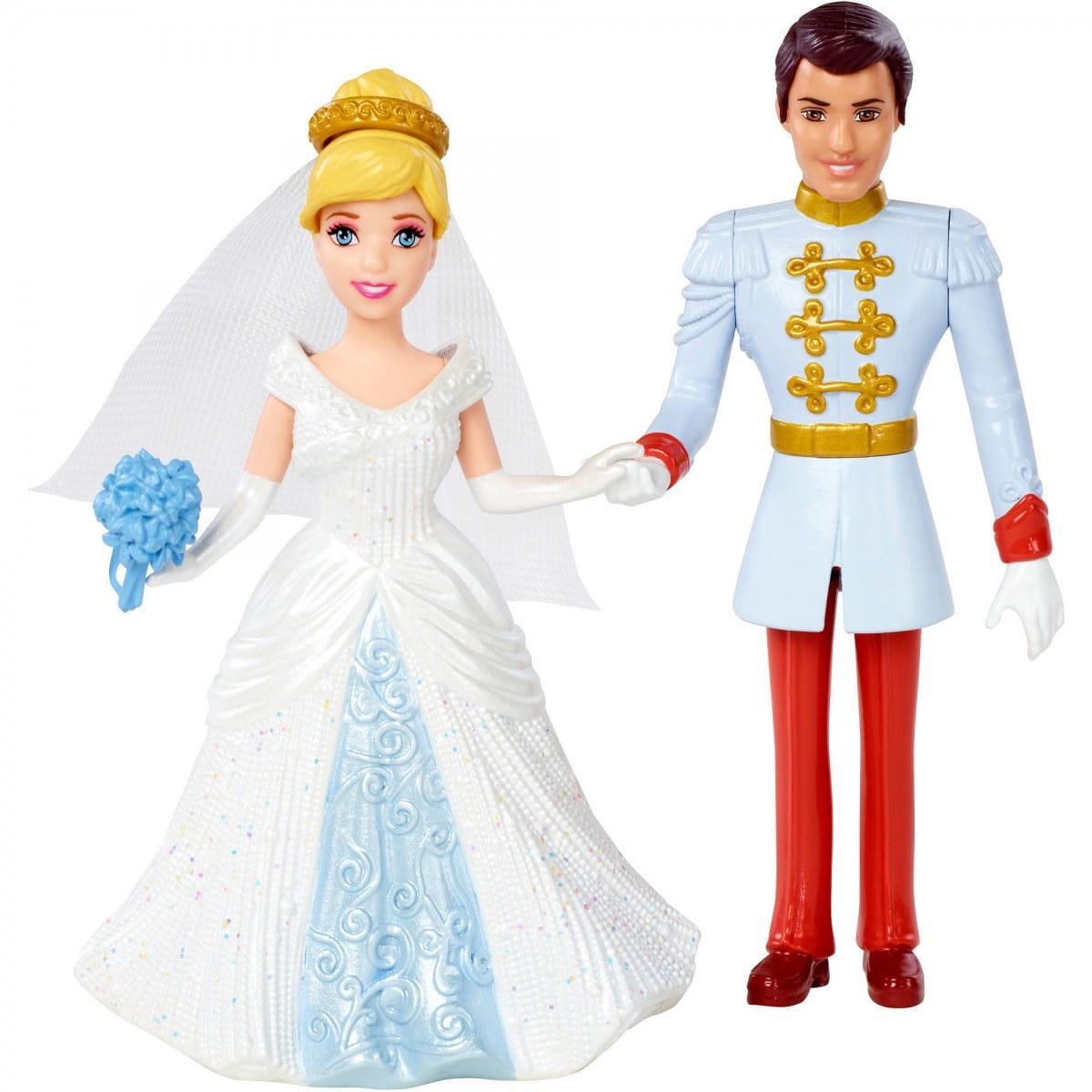 Игровой набор Disney Princess BDJ69/BDJ67 Свадебная пара - Золушка и принц (Mattel)