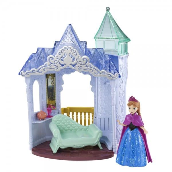 Игровой набор Disney Princess Холодное сердце - Анна с замком (Mattel)