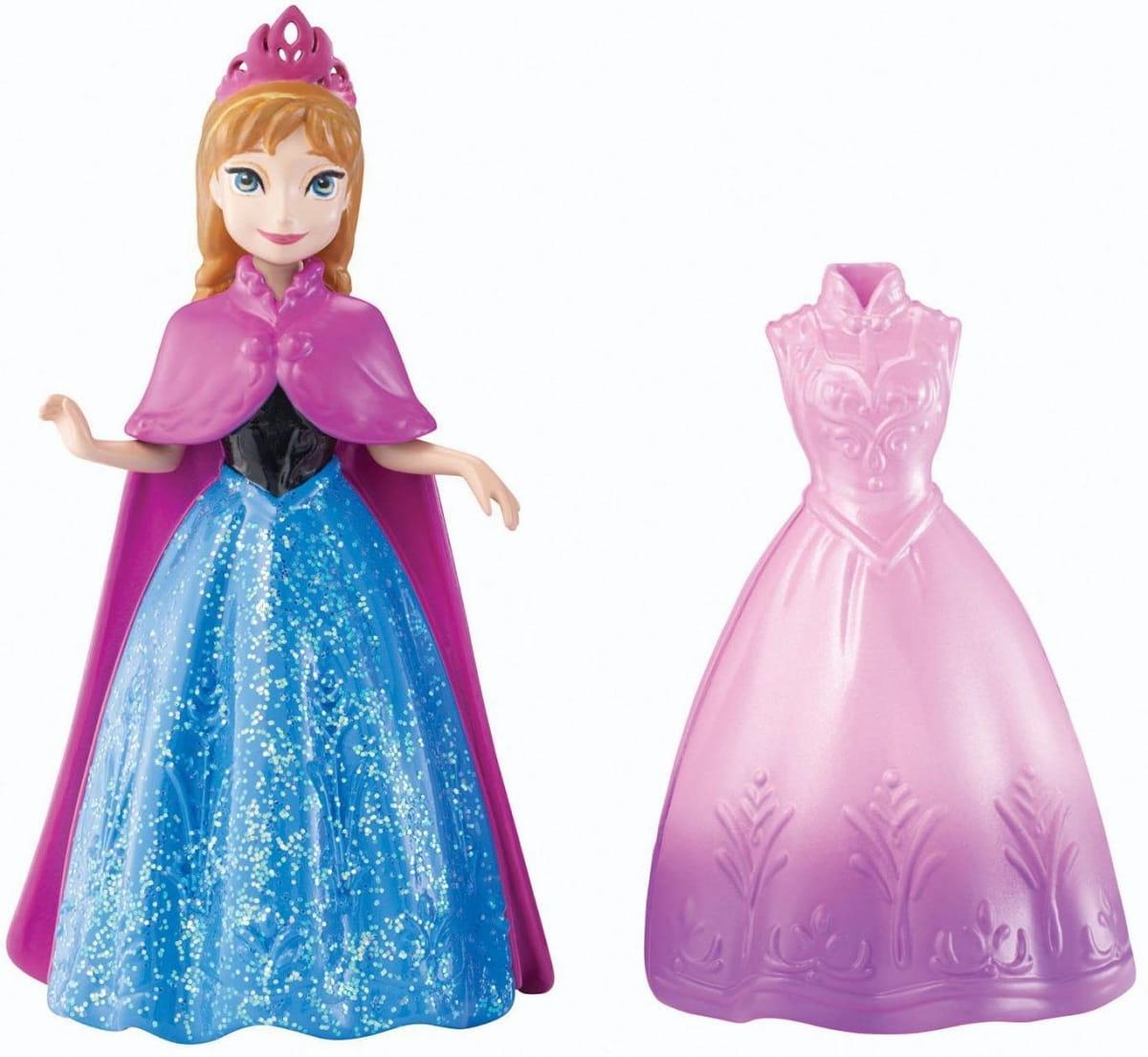Кукла Disney Princess Y9969 Холодное сердце с дополнительным нарядом - Анна (Mattel)