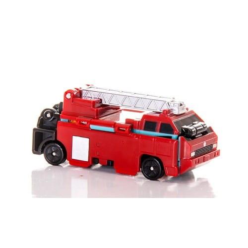 Купить Грузовик Voov Для перевозки животных - Пожарная (Bandai) в интернет магазине игрушек и детских товаров