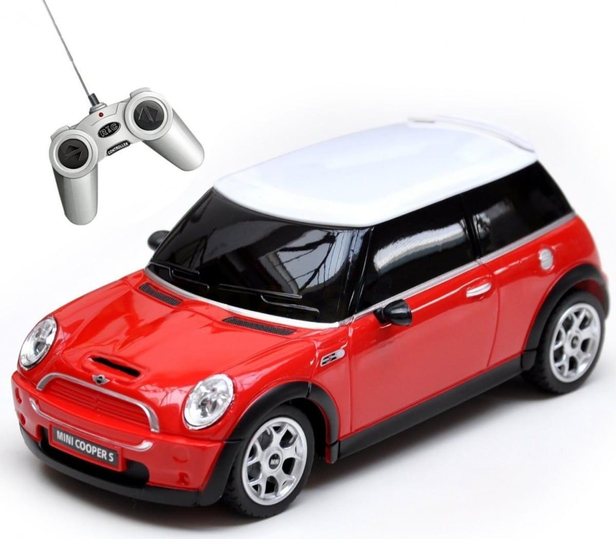 Радиоуправляемая машина RASTAR Minicooper S 1:18