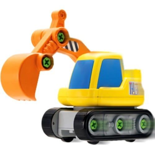 Купить Набор Build and Play Экскаватор - машина и шуруповерт (Keenway) в интернет магазине игрушек и детских товаров