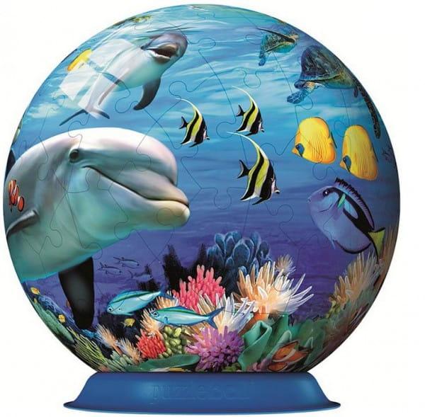 Шаровой пазл Ravensburger Подводный мир - 72 детали