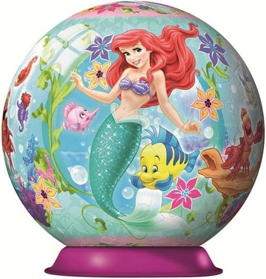 Купить Шаровой пазл Ravensburger Принцесса Ариэль - 108 деталей в интернет магазине игрушек и детских товаров