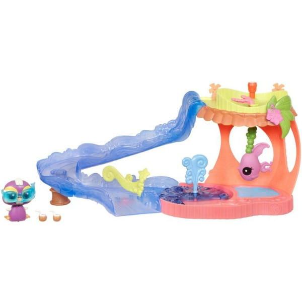Купить Игровой набор Littlest Pet Shop Лагуна (Hasbro) в интернет магазине игрушек и детских товаров