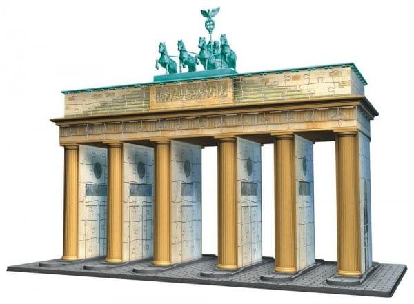 Объемный 3D пазл Ravensburger Берлин Бранденбургские ворота - 324 датели