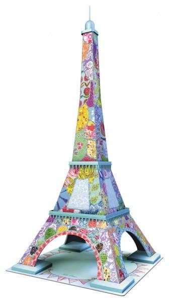 Купить Объемный 3D пазл Ravensburger Тула Мун - Эйфелева башня (216 деталей) в интернет магазине игрушек и детских товаров
