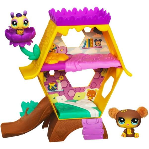 Купить Игровой набор Littlest Pet Shop Медовый домик (Hasbro) в интернет магазине игрушек и детских товаров