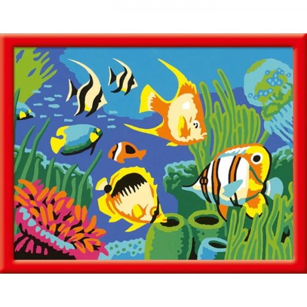 Раскраска по номерам Ravensburger Подводный мир