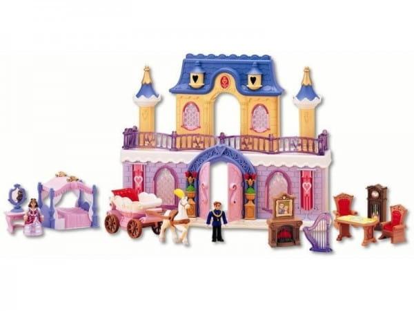 Игровой набор Fantasy Palace Дворец с каретой и предметами (KEENWAY)
