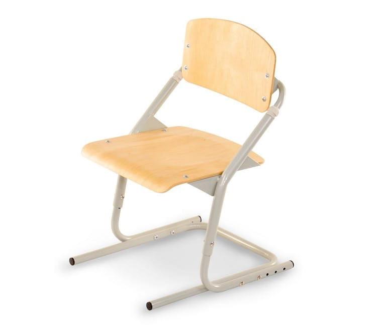 Растущий стул PONDI - серый, клен