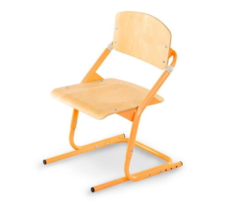 Растущий стул PONDI - оранжевый, клен