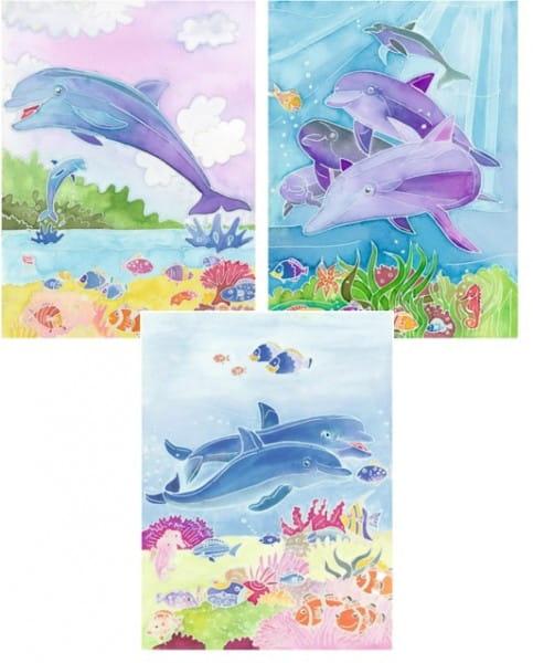 Акварель миди Ravensburger Дельфины