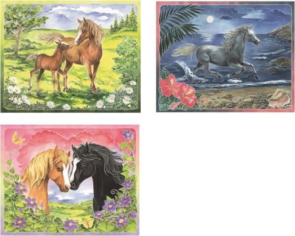 Купить Акварель макси Ravensburger Лошади в интернет магазине игрушек и детских товаров