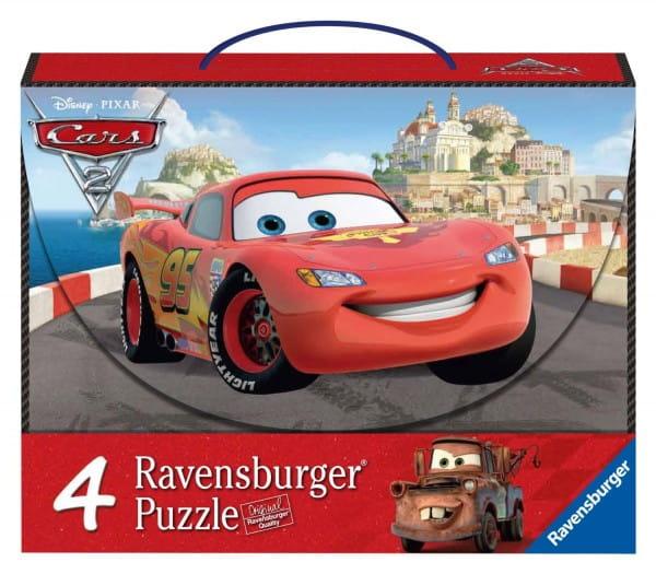 Купить Пазл Ravensburger Тачки 4 в 1 в интернет магазине игрушек и детских товаров