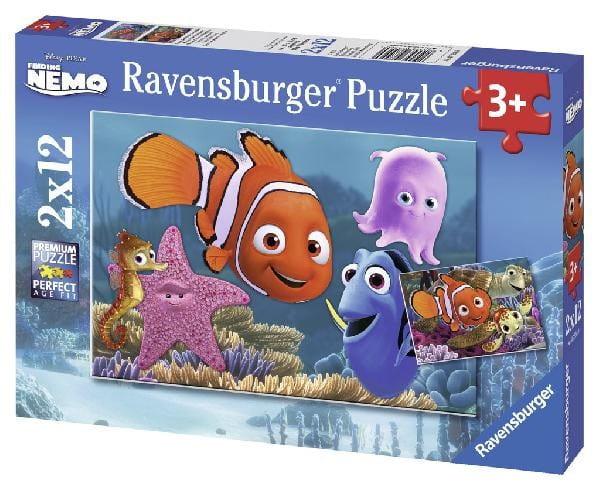 Купить Пазл Ravensburger Приключения Немо 2 в 1 в интернет магазине игрушек и детских товаров