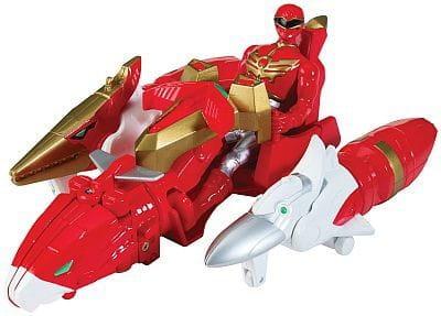 Купить Игровой набор Power Rangers Зорд с самураем 10 см в интернет магазине игрушек и детских товаров