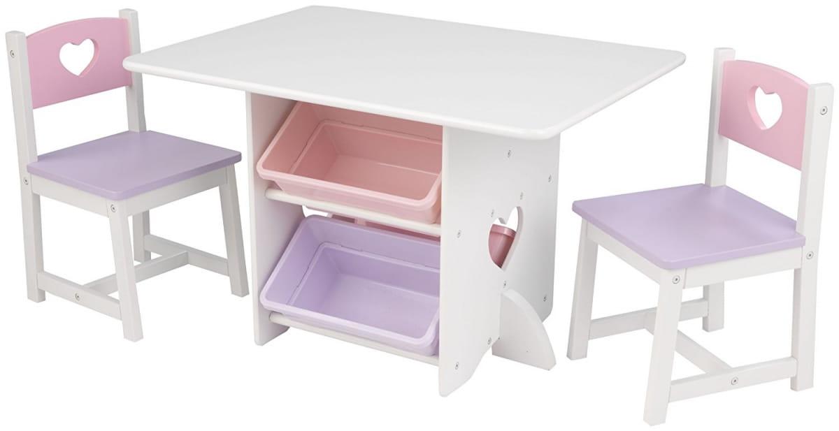 Набор детской мебели KidKraft Heart