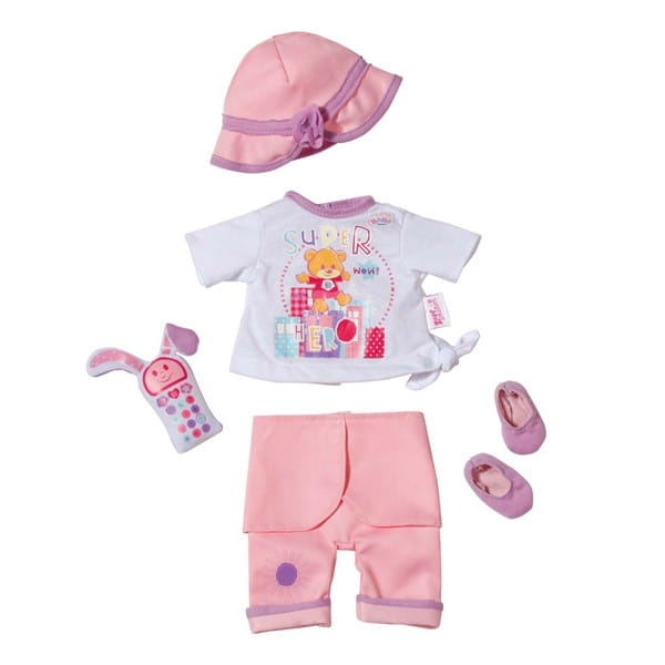 Купить Прогулочная одежда My little Baby born с соской 32 см (Zapf Creation) в интернет магазине игрушек и детских товаров