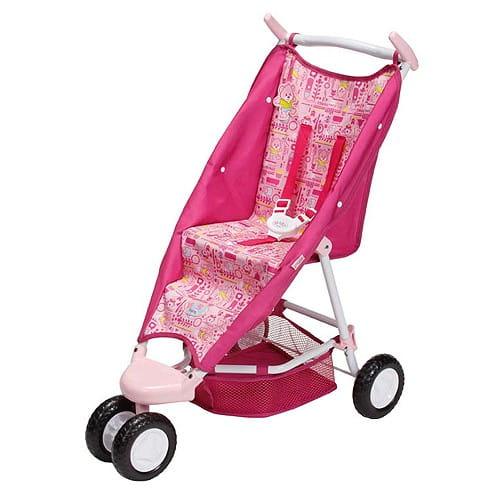 Купить Коляска уютная Baby born с сеткой (Zapf Creation) в интернет магазине игрушек и детских товаров