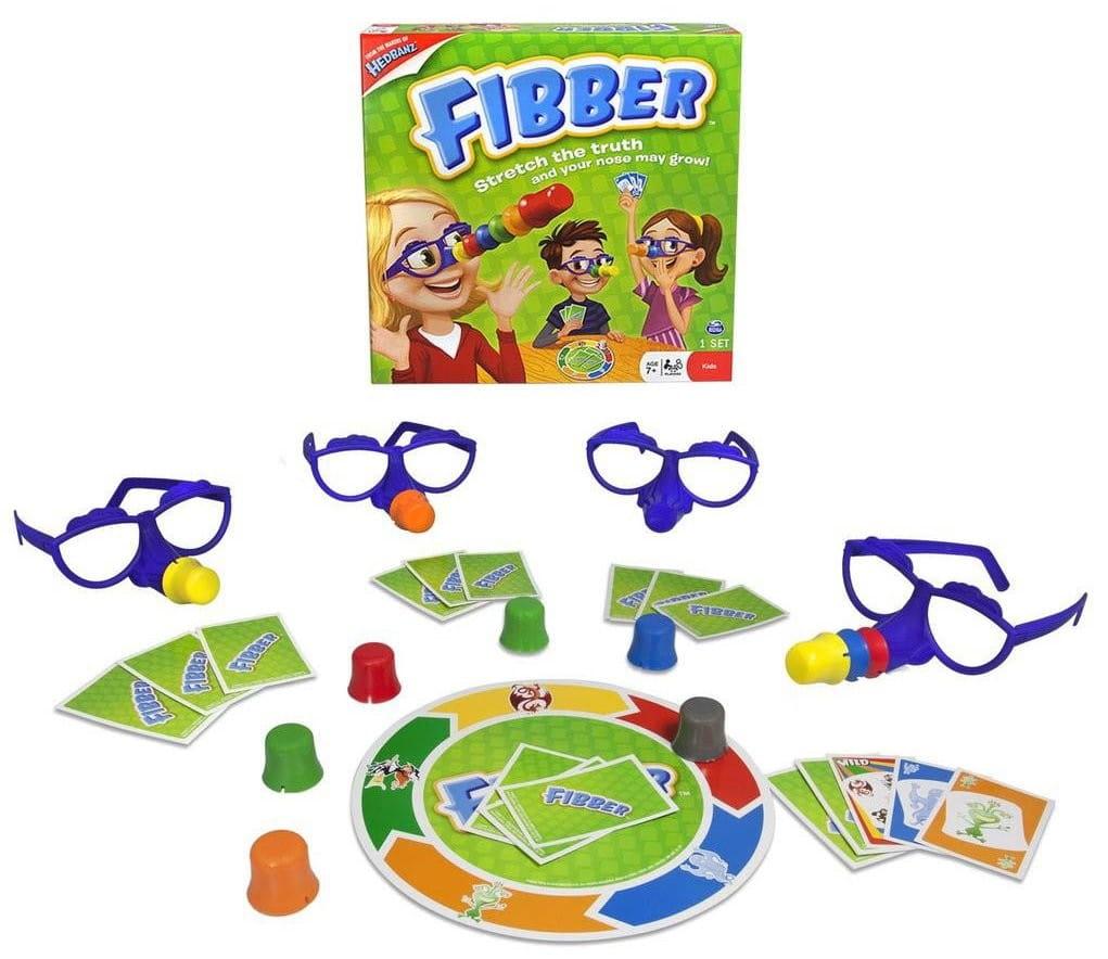 Настольная игра Spin Master 34545 Fibber