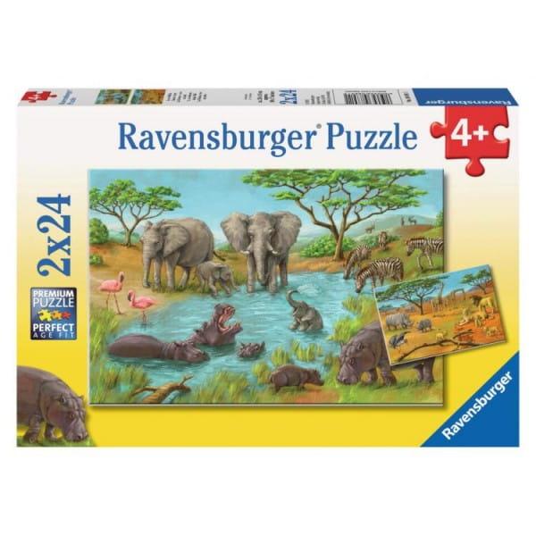 Пазл Ravensburger 08891 Дикая природа 2 в 1