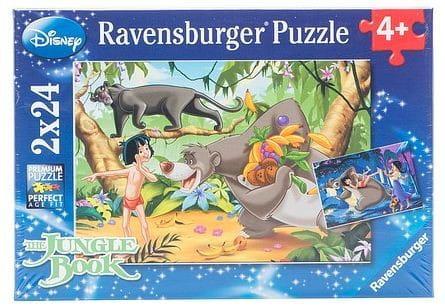 Пазл Ravensburger 08894 Маугли и друзья 2 в 1