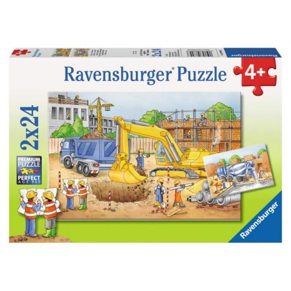 Пазл Ravensburger 08899 Стройплощадка 2 в 1