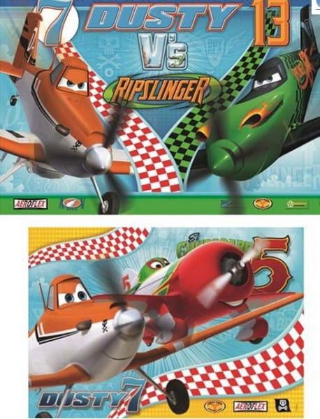 Пазл Ravensburger 09052 Дасти храбрый пилот 2 в 1