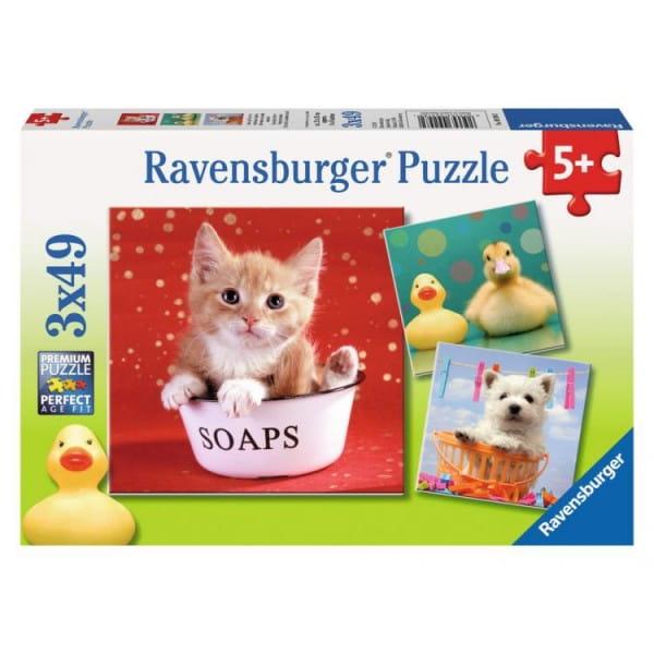 Пазл Ravensburger 09248 Забавные животные 3 в 1