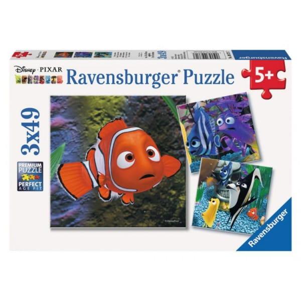 Пазл Ravensburger 09371 Немо в аквариуме 3 в 1