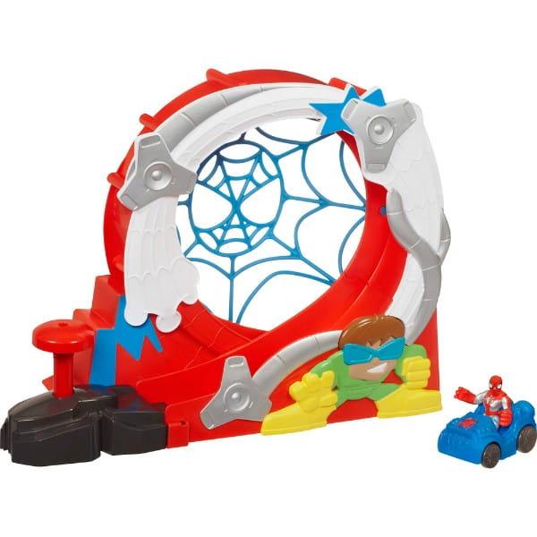 Купить Игровой набор Парк трюков Spider-man (Hasbro) в интернет магазине игрушек и детских товаров