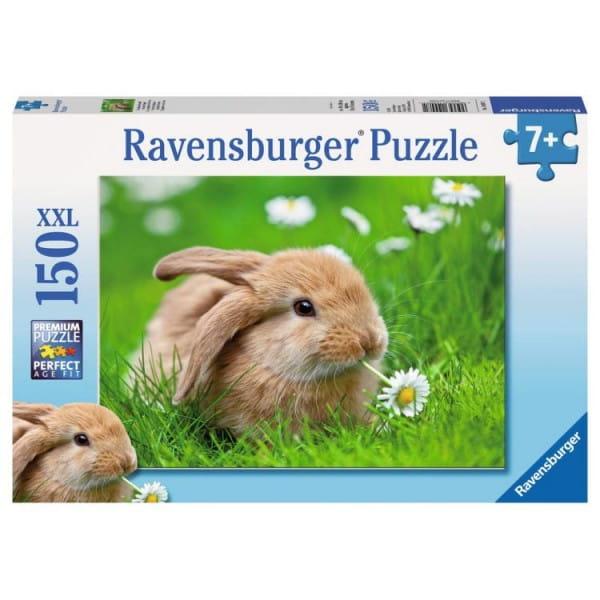 Купить Пазл Ravensburger Кролик в ромашках - 150 деталей в интернет магазине игрушек и детских товаров
