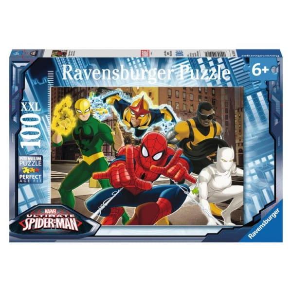 Купить Пазл Ravensburger Человек Паук - 100 деталей в интернет магазине игрушек и детских товаров