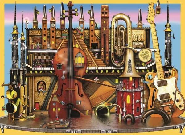 Пазл Ravensburger 10524 Музыкальный замок - 100 деталей