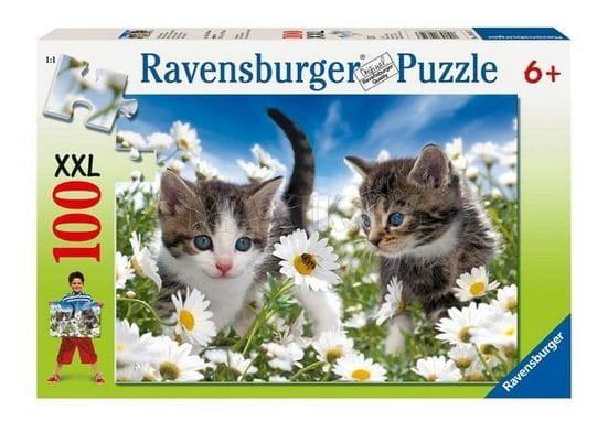 Пазл Ravensburger 10612 Котята в ромашках - 100 деталей